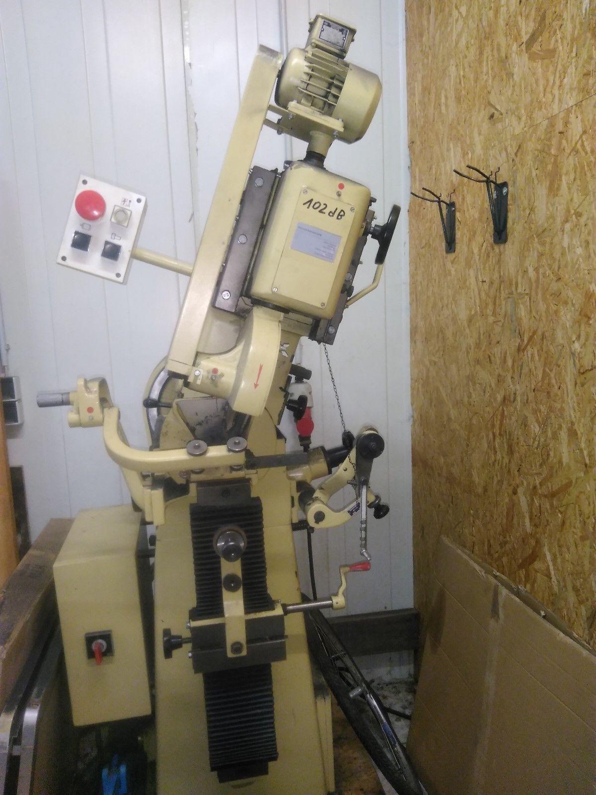 Schleifmaschine, Schärfmaschine