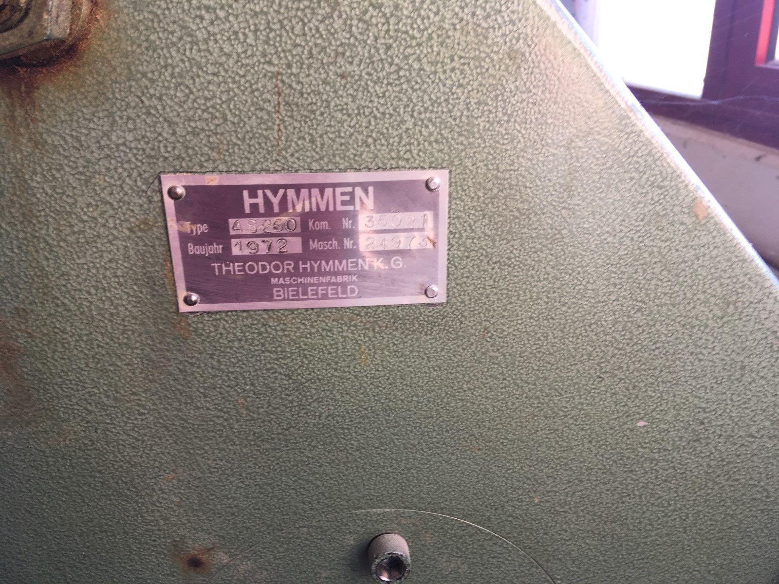 Hymmen As 260 Baujahr 1972
