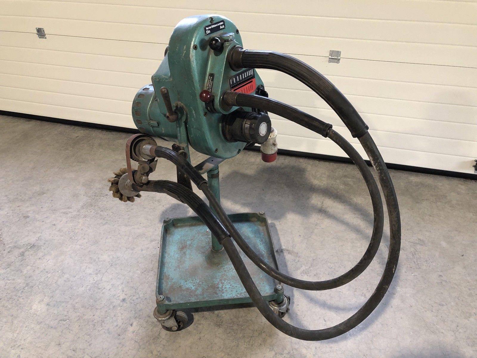 Suhner Wellenschleifmaschine Rotovar DKM7