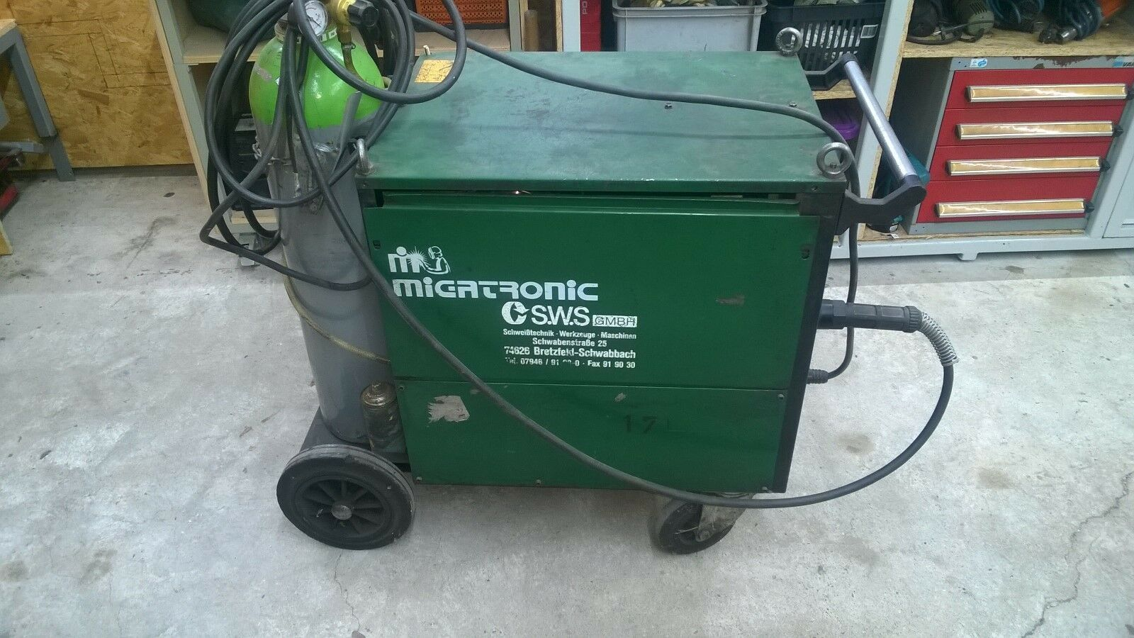 Schweißapparat Migatronic 385 MK 3