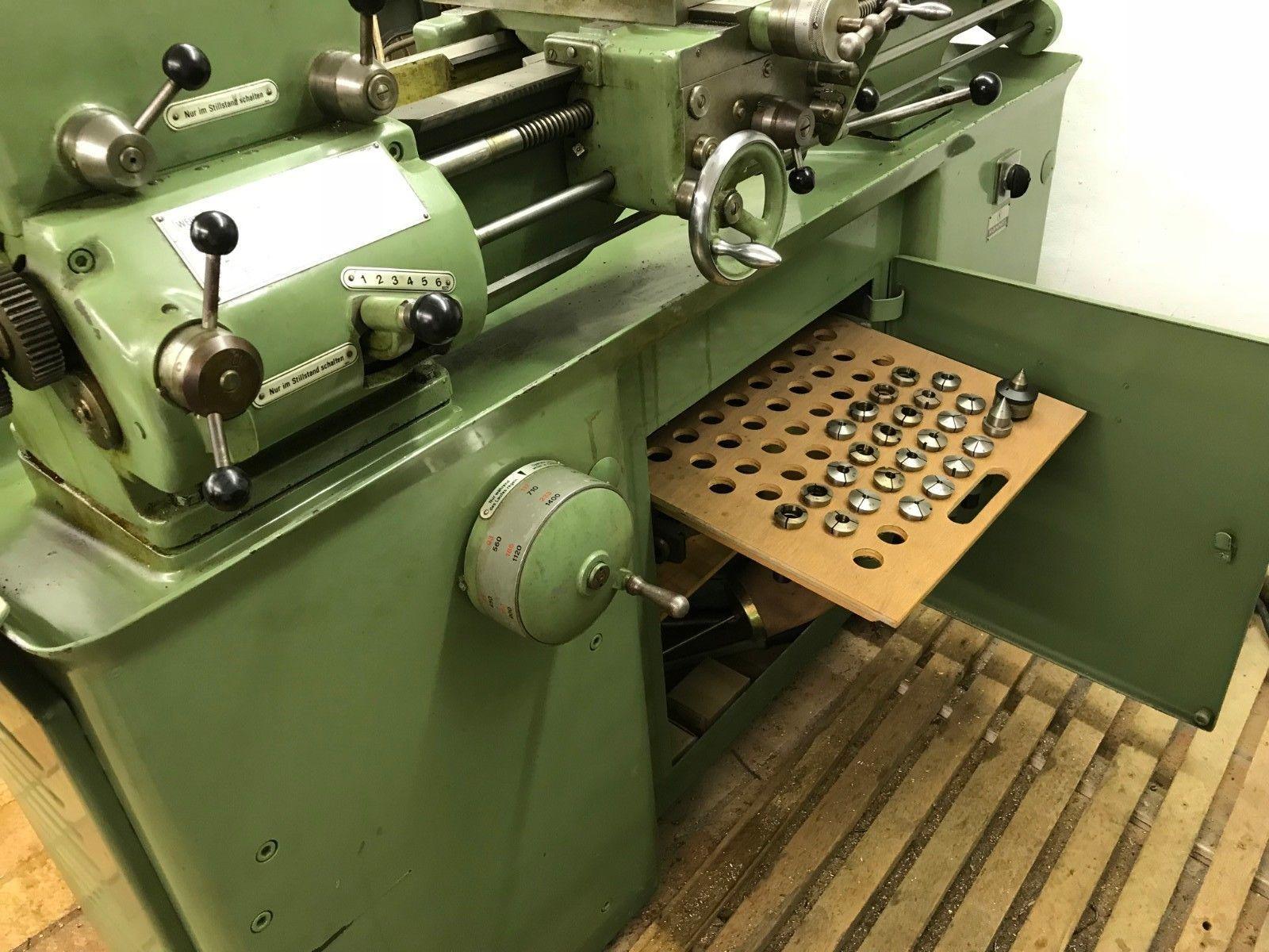 Weiler Drehmaschine Leit- und Zugspindel