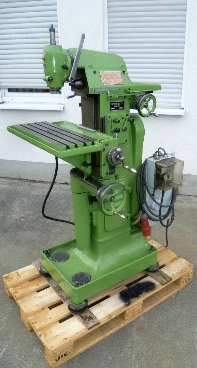 Deckel FP1 Werkzeugfräsmaschine Universalfräsmaschine Fräsmaschine