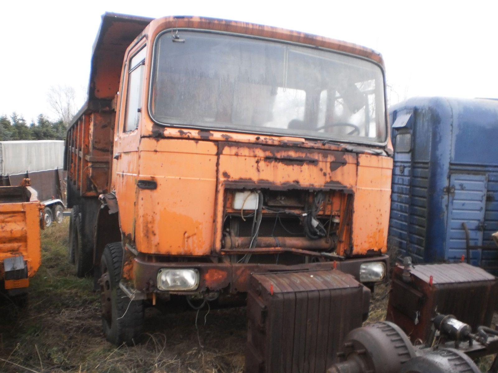 MAN ROMAN 19.215 Oldtimer H-Kennzeichen Scheunenfund Traktorpulling 6X4