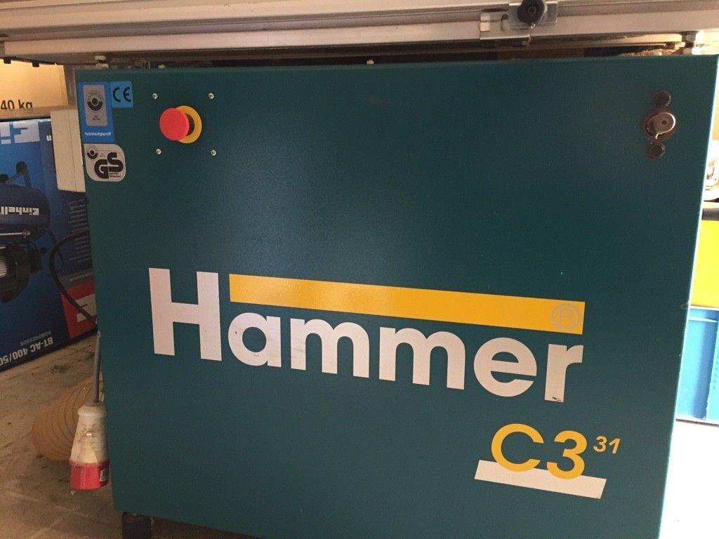 Kombimaschine Holz Hammer C3 31