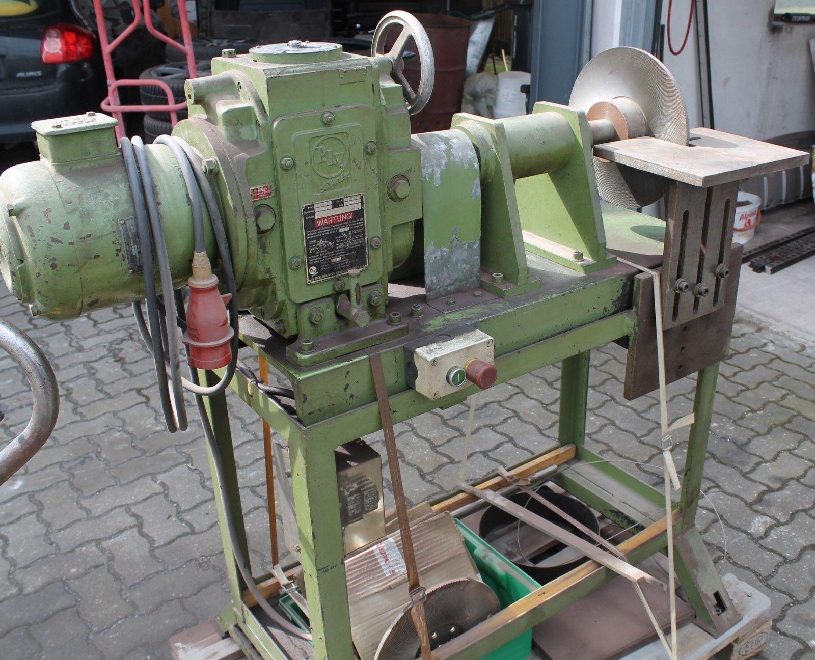 Feilmaschine mit stufenloser Geschwindigkeitsregelung Hersteller Thielenhaus