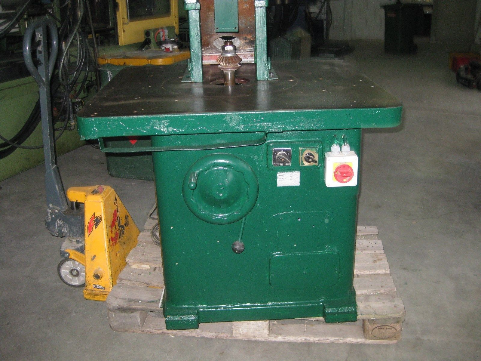 Tischfräse Starrspindelfräse Fräsmaschine Holzfräsmaschine