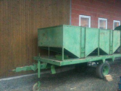 Schrägbodenbehälter, Düngerwagen, Getreidea, Saatgut, Pellet