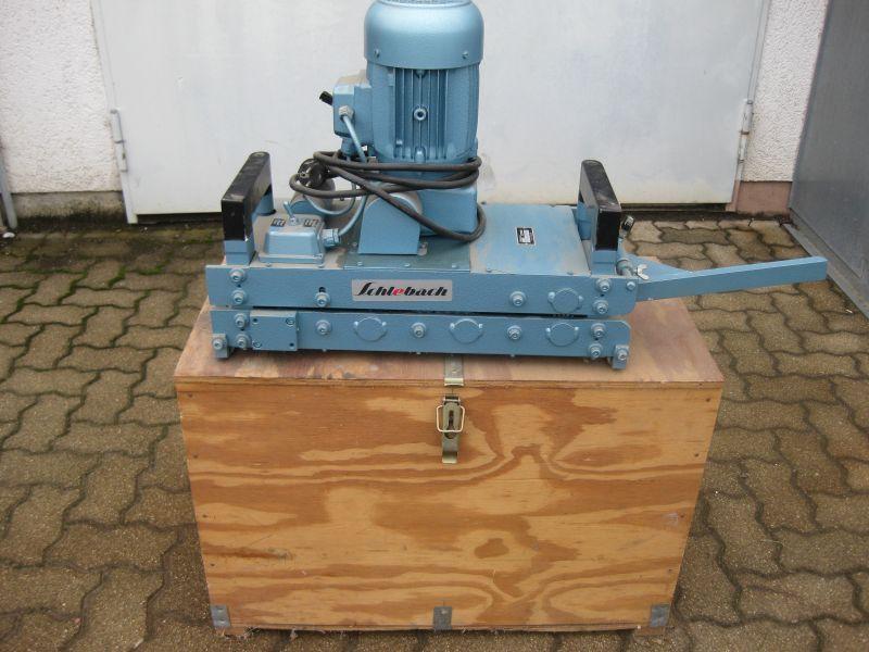 Schlebach, Falzschließmaschine elektrisch, Typ: AK2