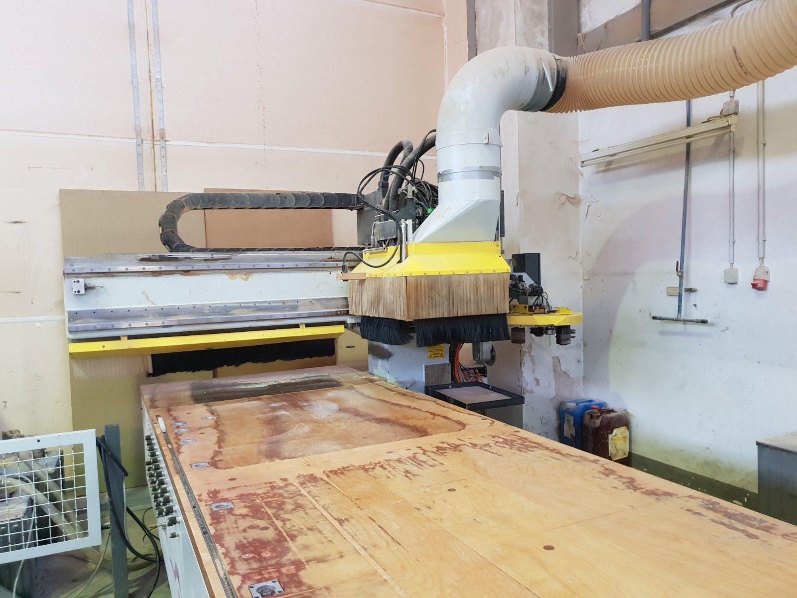 HOMAG BOF 31 CNC Holzbearbeitungszentrum, VOLL FUNKTIONSFÄHIG -Glatttisch-