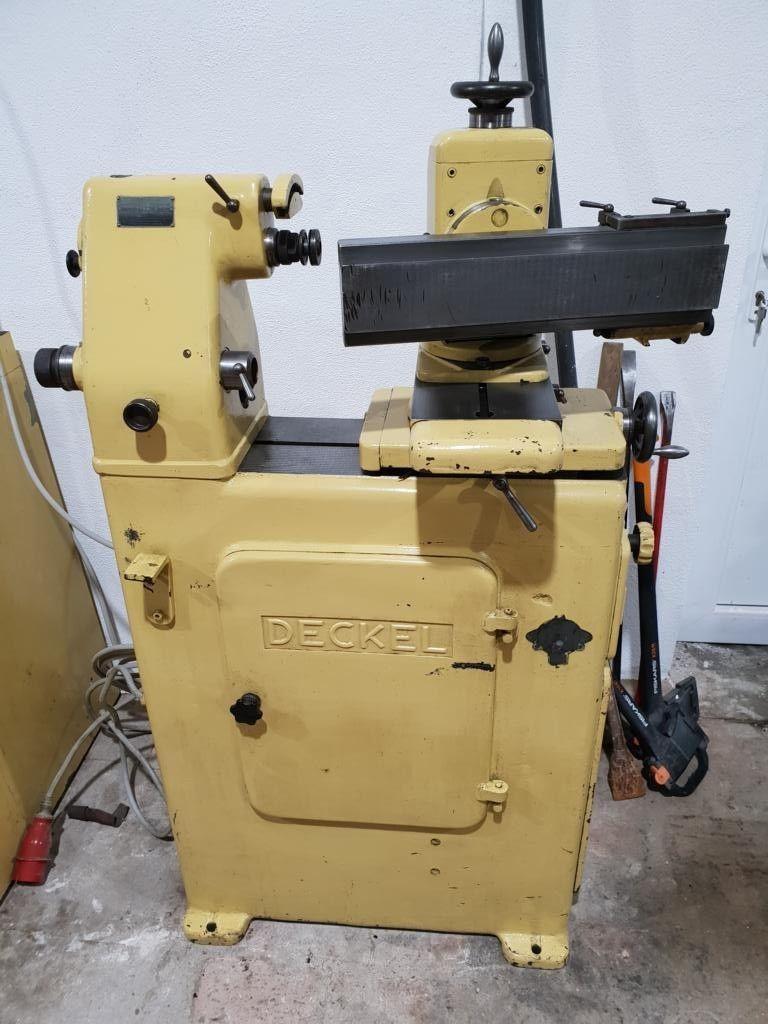 Deckel S1 Schleifmaschine Werkzeugschleifmacshine Stichelschleifen viel Zubehör