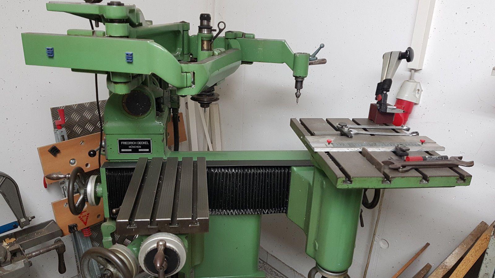 Gravier-,Kopier- und Fräsmaschine Deckel GK 21 im Top Zustand