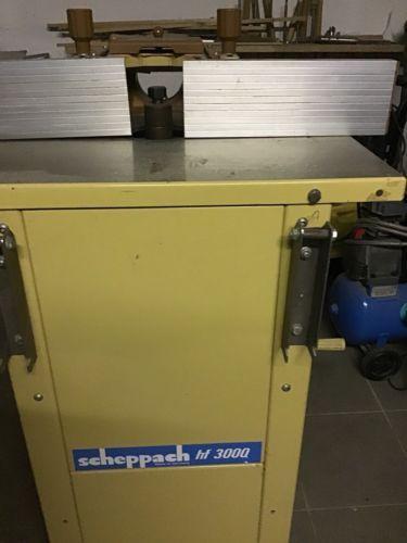 Scheppach Tischfräsmaschine hf 3000