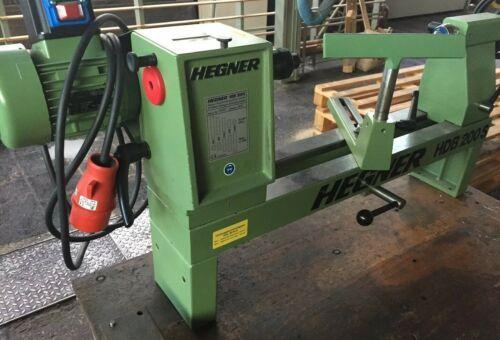 Hegner HDB 200S, 400V, BJ 2013, wie neu, Holzdrechselbank