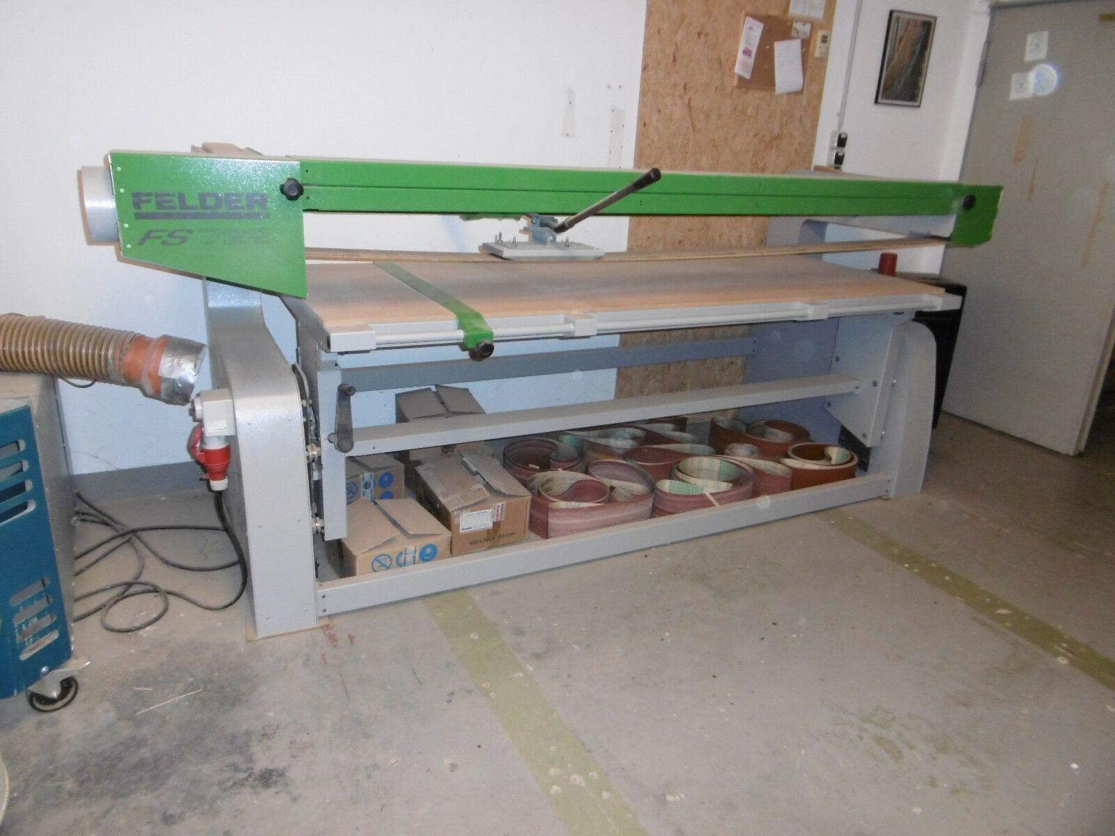 Bandschleifmaschine Felder FS 722
