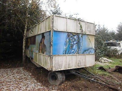Kassenwagen Anhänger Schaustellerwagen Packwagen