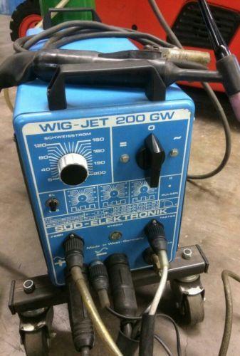 WIG-JET 200 GW WIG Schweißgerät SÜD Elektronik MIG MAG Schweißen Schweißschild