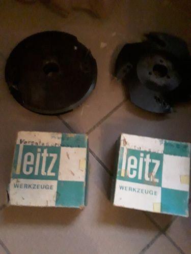 Leitz 4 Stück Fräskopf Fräsköpfe Vorsatzsprossen