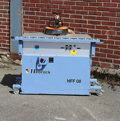 Kantenfräse Hebrock HFF 08 Formteil-Radiusfräse Bj. 1996 #m2599#