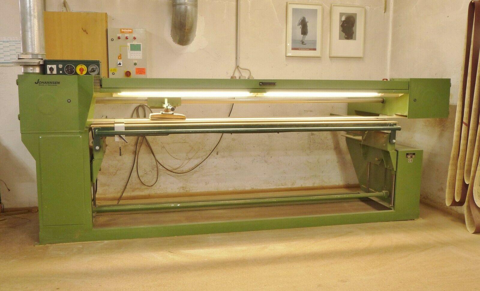 Langbandschleifmaschine Johannsen Bj. 1996