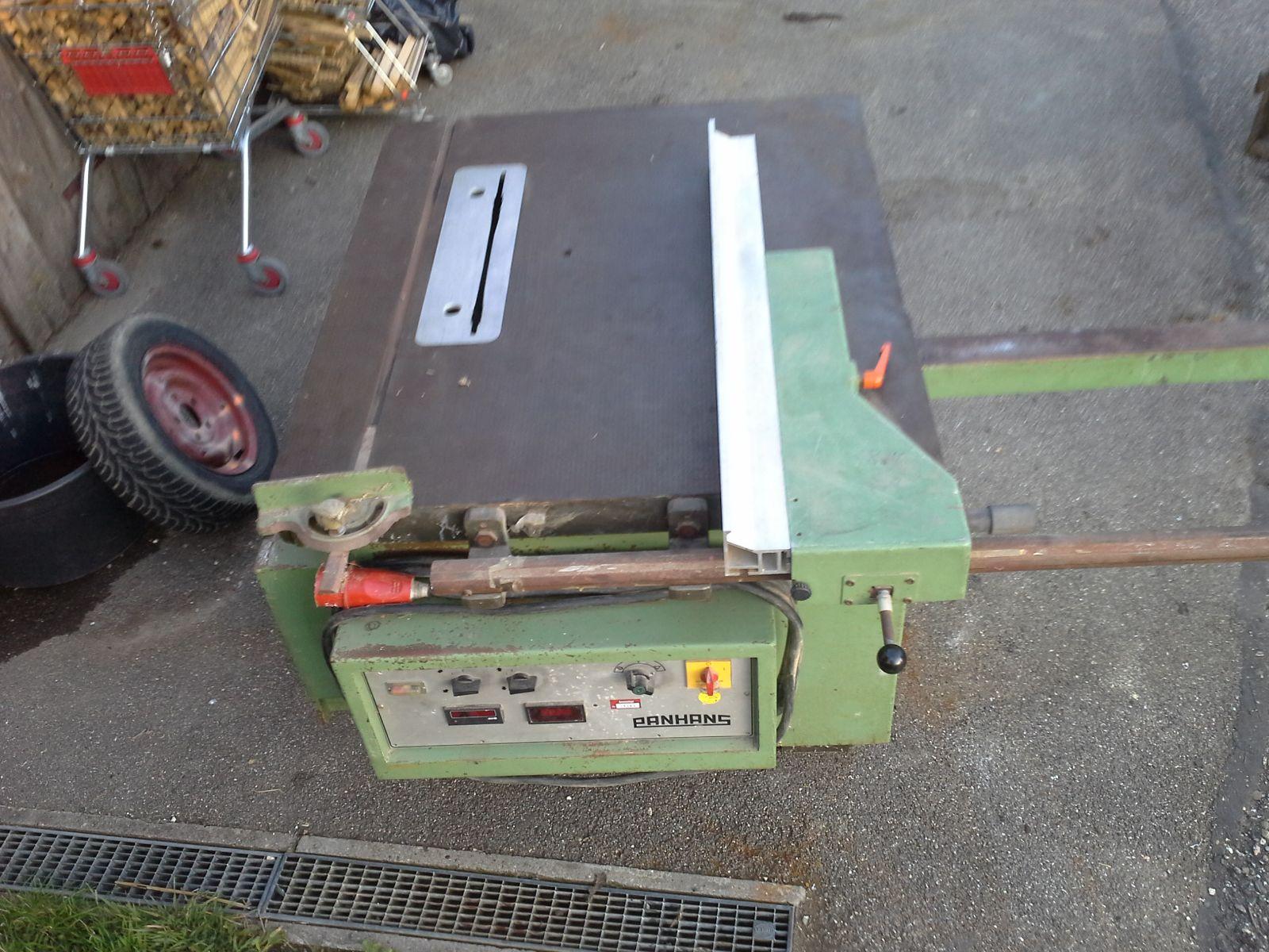 kreissäge von panhans tischkreissäge gebraucht formatkreissäge tischlerei stabil