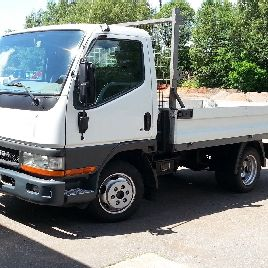 Mitsubishi Canter 35 (FB634) 3.5 Tonner - bed. Well maintained