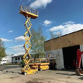 Haulotte Compact 12 working height 12 m 24 Volt