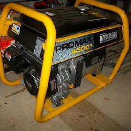 Original RROMAX 4500 NOTSTROMER GENERATOR with B & S VANGUARD MOTOR NEW NEW