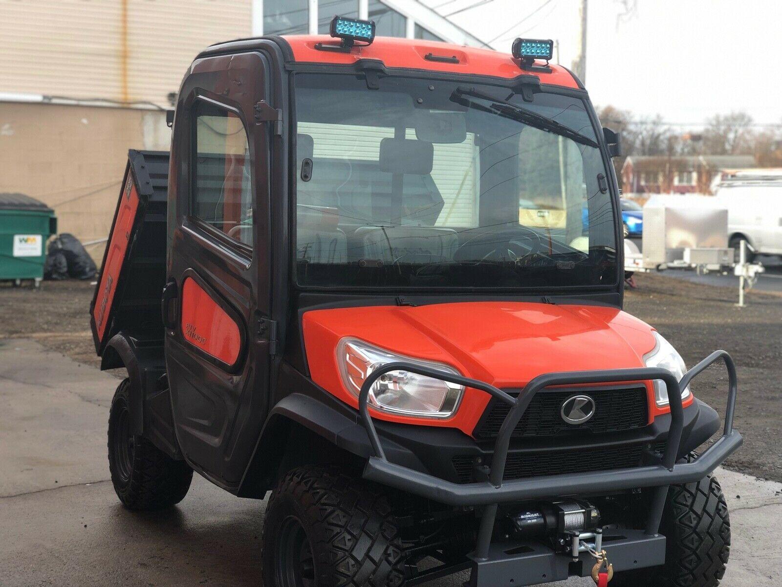 2017 Kubota RTV X1100C 4x4 Orange Baustelle, HYDRAULISCH, AC / WÄRME, MARKE NEUE WINKEL