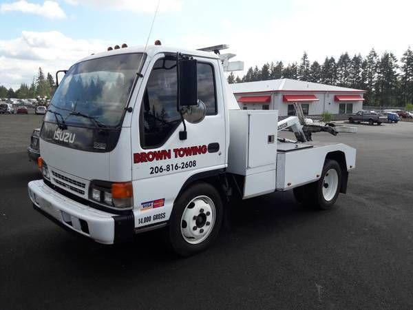 Abschleppwagen-Selbstlader Dynamischer Repo-Wiederherstellungs-LKW Isuzu NPR