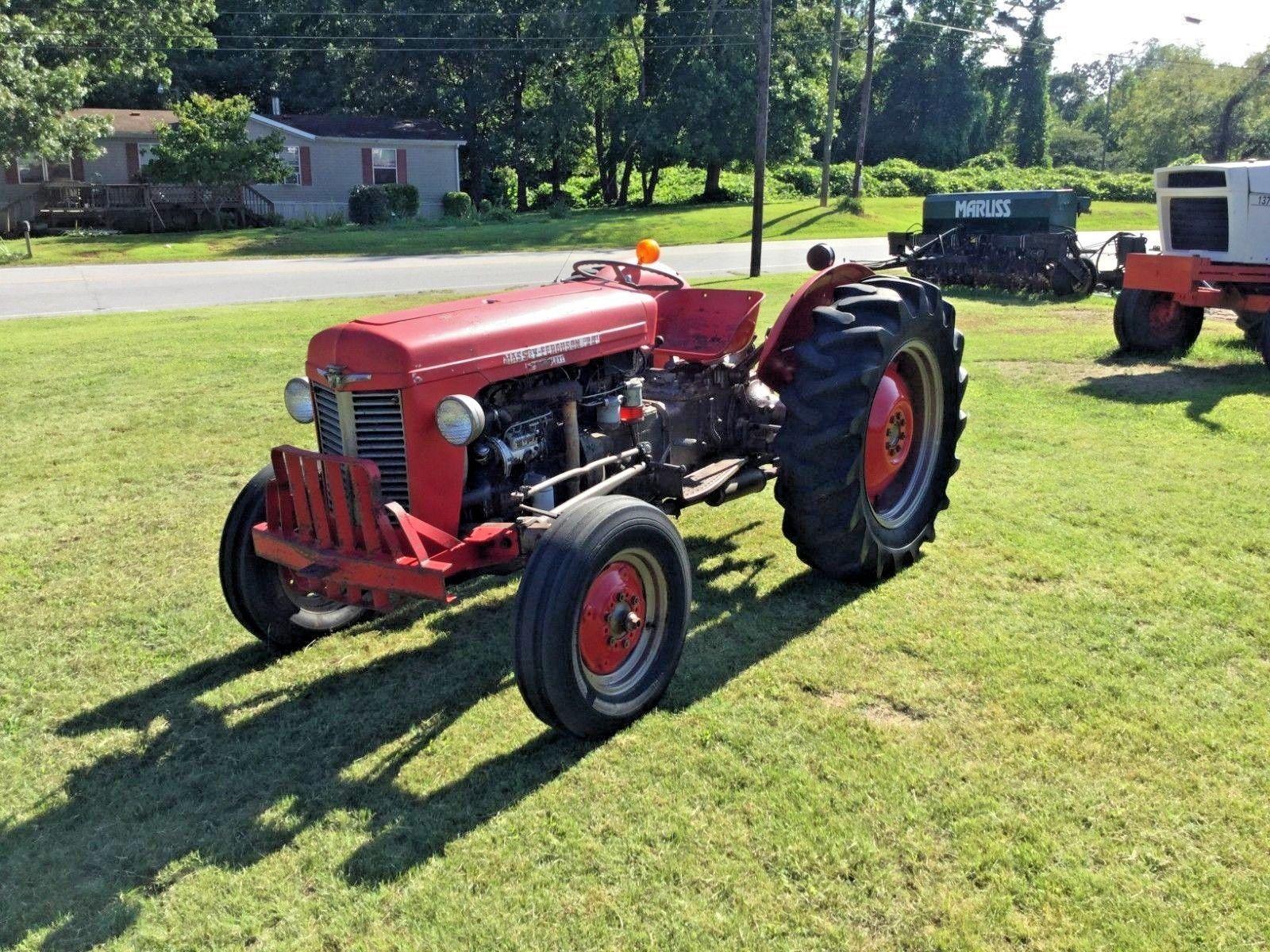 Massey Ferguson 35 Deluxe Diesel Traktor