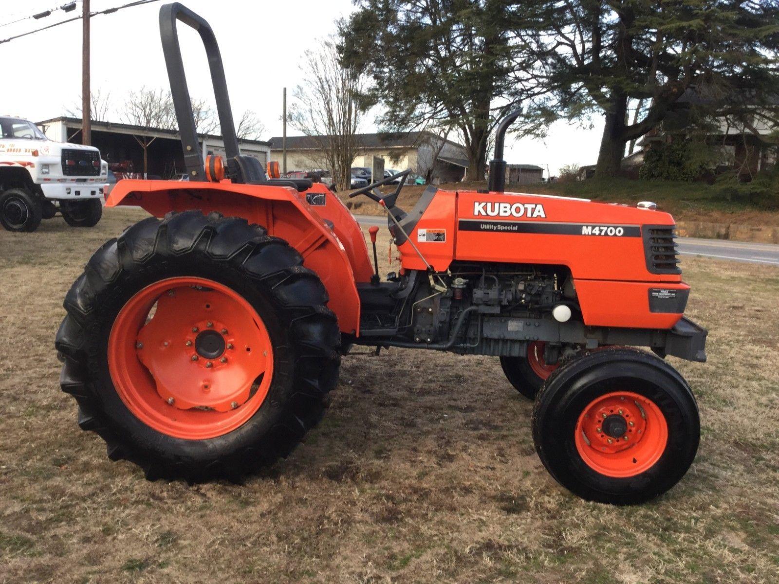 iVery Nice Kubota M4700 2WD-Traktor mit nur 555 Stunden