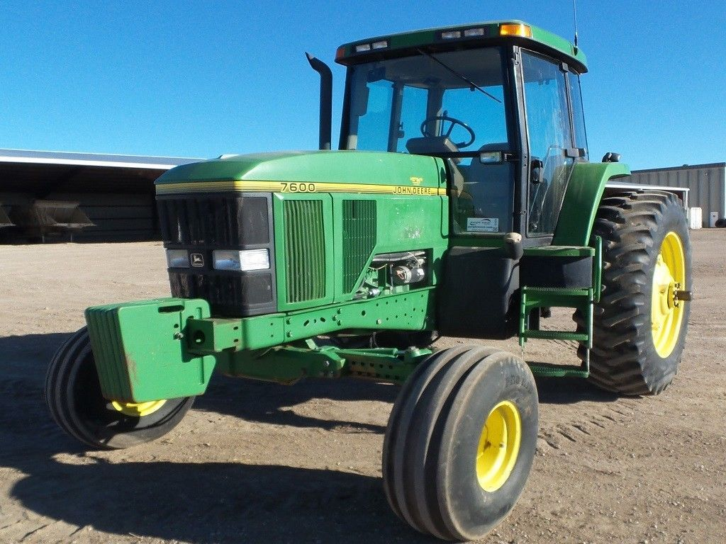 1996 John Deere 7600 Traktor, 7213 Stunden