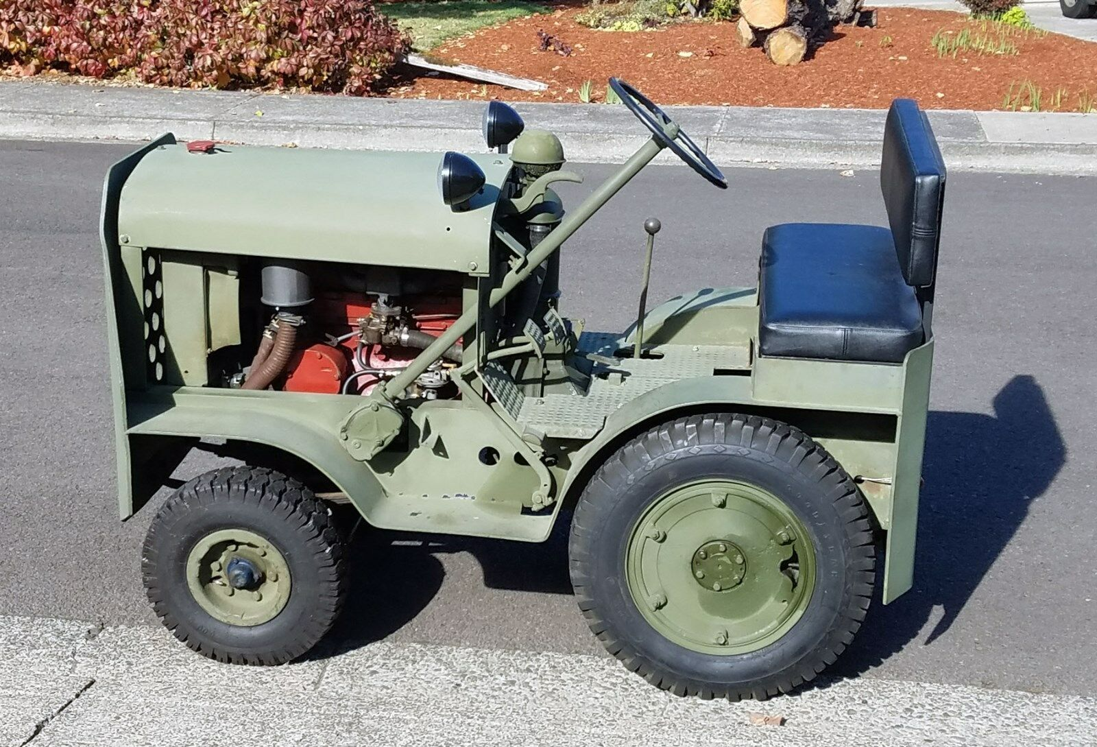 Jahrgang 1942 W.F. Hebard Shop Mule A14 V Traktor