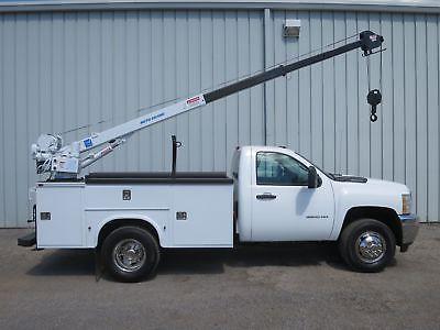 3500 HD 1-TON V-8 6,0 GAS 9-F UTILITY SERVICE KRANMECHANIK WERKZEUG BOOM TRUCK