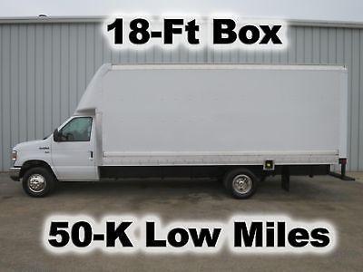 E350 GAS AUTOMATIC 18FT CUBE CUTAWAY LIEFERUNG HAUL VAN BOX LKW 50-K NIEDRIGE MEILEN