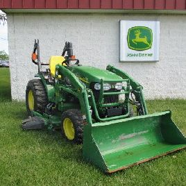 "John Deere 2520 Compact Tractor with Loader and 62"" Mower"