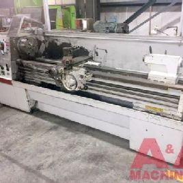 Clausing 17 x 80 Gap Bed Lathe 24917
