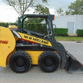 2013 NEW HOLLAND L-216 TURBO 60 HP - TREADS LIGHTLY YET POWERFUL AND EFFICIENT