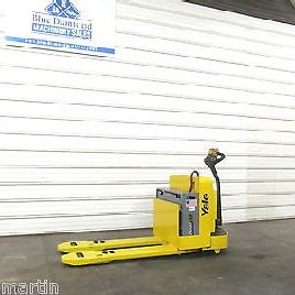 2008' Yale MPW065, 6,500# Electric Pallet Jack, New Battery, Nice!