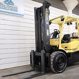 2007 Hyster H110FT, 11,000# Solid Pneumatic Tire Forklift, S/S,