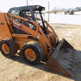 Case 450 Skid Steer Loader, 426 Hours, 2 Speed, Ride Control, 88 HP Diesel