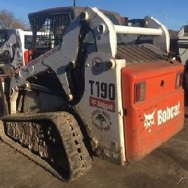 2007 Bobcat T190 verfolgt Skid Steer Loader w / Cab & Joysticks. Kommt bald!