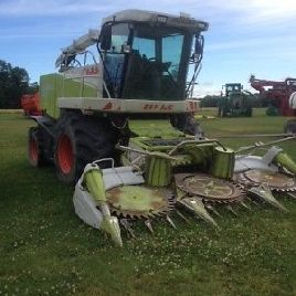 2008 Claas Jaguar 850 Combines & Harvesters