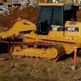 caterpillar 953c loader