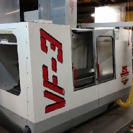Used HAAS VF-3 CNC Vertical Machining Center Mill CT40 4020 VMC 10,000 rpm 1997