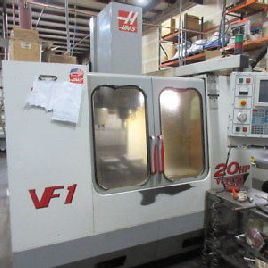 Haas VF-1 CNC Machining Center w/ Rigid Tapping, Floppy. 1MB Memory