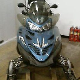 Polaris IQ Tour Warehouse Kept Snowmobile 2 HOURS Runtime Used 1 x Only