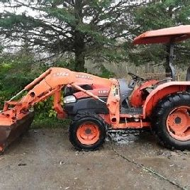 "2009 Kubota L3540 Tractor compacto de utilidad w / 72 ""Front End Loader, ON, Canadá"