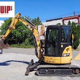 2014 Caterpillar 303.5ECR Mini Excavator Dozer - AC & Heat - Only 700 hrs