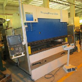 "67 TON TRUMPF ""TRUMABEND C60"" 4-AXIS CNC HYDRAULIC PRESS BRAKE - #28080"